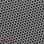 Single-layer graphene imaged by ADF-STEM (collaboration with Colum Ó Laoire & Gerardo Martinez).