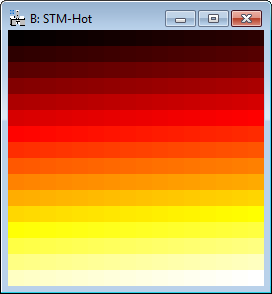 DM Hot Colormap